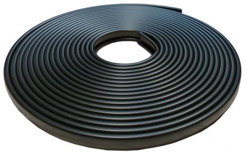 pvc kunststoff handlauf f358 35x8 mm sonderformat 25. Black Bedroom Furniture Sets. Home Design Ideas