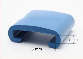 PVC Handlauf Format 35x8
