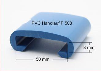 PVC Handlauf Format 50x8